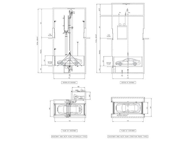 Automobile elevator-2