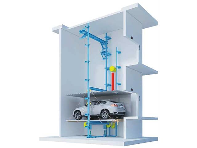 Automobile elevator-3
