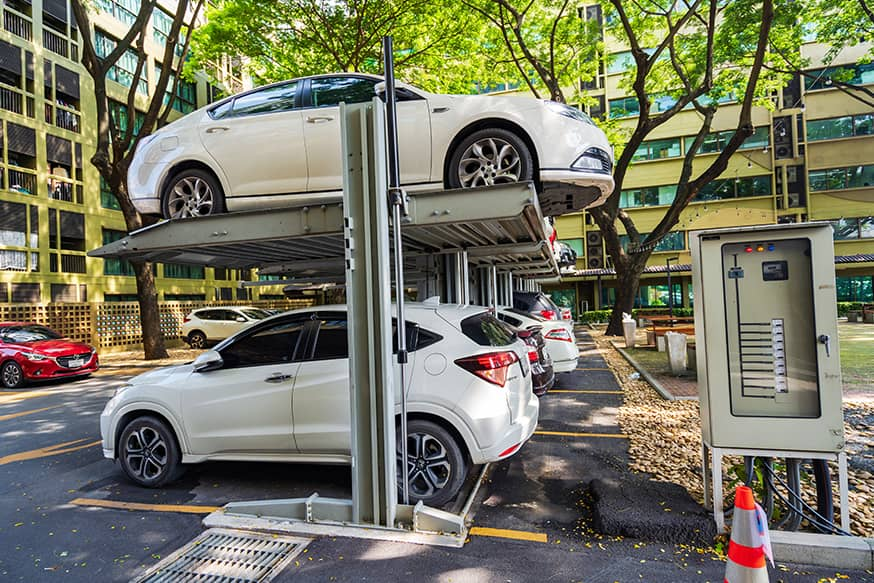 Automatic Car Parking – No More Wasting Time Looking for A Spot
